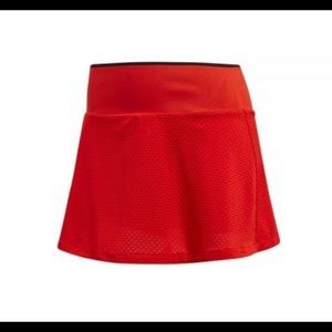 ADIDAS Barricade Red Tennis Skort